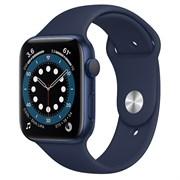 Часы Apple Watch 6 (Корпус из алюминия синего цвета - Спортивный ремешок)