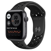 Часы Apple Watch 6 (Корпус из алюминия цвета «серый космос» - Спортивный ремешок Nike)