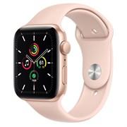 Часы Apple Watch SE (Корпус из алюминия золотого цвета - Спортивный ремешок)