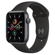Часы Apple Watch SE (Корпус из алюминия цвета «серый космос» - Спортивный ремешок)