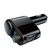 Автомобильное зарядное устройство Baseus Locomotive Bluetooth MP3 Vehicle Charger (CCALL-RH01)