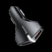 Автомобильное зарядное устройство Baseus Small Rocket QC3.0 2-USB (CCALL-RK01)