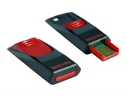 Флеш-накопитель USB  32GB  SanDisk  Cruzer Edge  чёрный
