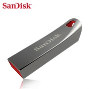 Флеш-накопитель USB  64GB  SanDisk  Cruzer Force  корпус металл