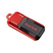 Флеш-накопитель USB  64GB  SanDisk  Cruzer Switch  чёрный/красный