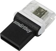 Флеш-накопитель USB  64GB  Smart Buy  Poko  OTG  чёрный