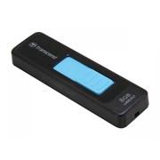 Флеш-накопитель USB 3.0  8GB  Transcend  JetFlash 760  чёрный/голубой