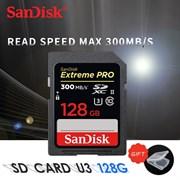 Карта памяти SDXC  128GB  SanDisk Class 10 Extreme Pro UHS-II (300 Mb/s)