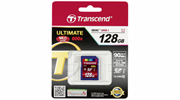 Карта памяти SDXC  128GB  Transcend Class 10 UHS-I (600x)
