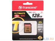 Карта памяти SDXC  128GB  Transcend Class 10 UHS-I U3 (95/60 Mb/s)