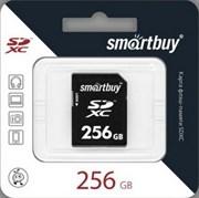 Карта памяти SDXC  256GB  Smart Buy Class 10