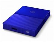 """Внешний жесткий диск HDD  WD  2 TB  My Passport Slim синий, 2.5"""", USB 3.0"""