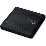 "Внешний жесткий диск HDD  WD  3 TB  My Passport Wireless Pro чёрный, 2.5"", USB 3.0/WiFi External"