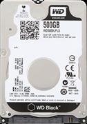 Внутренний жесткий диск HDD  WD   500GB, SATA-III, 7200 RPM, 32 Mb, 2.5'', чёрный