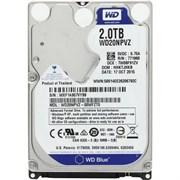 Внутренний жесткий диск HDD  WD  2TB, SATA-III, 5400 RPM,  128 Mb, 2.5'', Mobile, синий