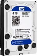 Внутренний жесткий диск HDD  WD  4TB, SATA-III, 5400 RPM, 64 Mb, 3.5'', PC, синий