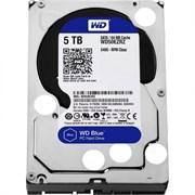 Внутренний жесткий диск HDD  WD  5TB, SATA-III, 5400 RPM, 64 Mb, 3.5'', PC, синий