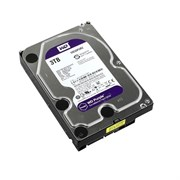 Внутренний жесткий диск HDD  WD  3TB  IntelliPower, SATA-III, 5400 RPM, 64 Mb, 3.5'', DV, пурпурный