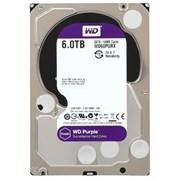 Внутренний жесткий диск HDD  WD  6TB  IntelliPower, SATA-III, 5400 RPM, 64 Mb, 3.5'', DV, пурпурный