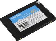 """Твердотельный внутренний диск SSD  Smart Buy  60GB  S11, SATA-III, R/W - 500/320 MB/s, 2.5"""", PS3111-S11, TLC (OEM Pack)"""