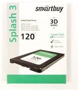 """Твердотельный внутренний диск SSD  Smart Buy  120GB  Splash 3, SATA-III, R/W - 500/380 MB/s, 2.5"""", Marvell 88NV1120, TLC"""