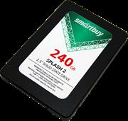 """Твердотельный внутренний диск SSD  Smart Buy  240GB  Splash 2, SATA-III, R/W - 530/420 MB/s, 2.5"""", Marvell 88NV1120, TLC 3D NAND"""