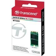 Твердотельный внутренний диск SSD  Transcend  128GB  MTS400S, SATA-III R/W - 460/560 MB/s, (M.2), 2242, MLC