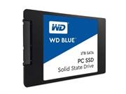 Твердотельный внутренний диск SSD  WD 1TB Original, SATA-III, R/W - 525/545 MB/s, (M.2), 2280, PC, TLC, синий