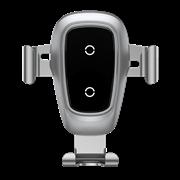 Автомобильный держатель с беспроводной зарядкой Baseus Metal Wireless Charger Gravity Car Mount (Air Outlet Version) (WXYL-B0S)
