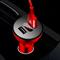 Автомобильное зарядное устройство Baseus Shake-head Digital Display Car Charger (CCALL-YT09)