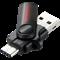 Флеш-накопитель USB  3.1  256GB  SanDisk  Dual Drive  (Type C + Type A)  OTG - фото 9409